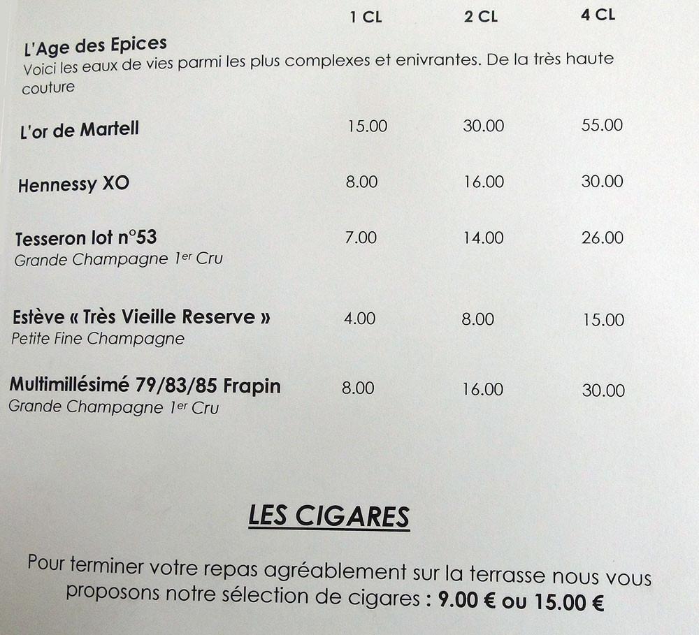 Cognac & Cigares