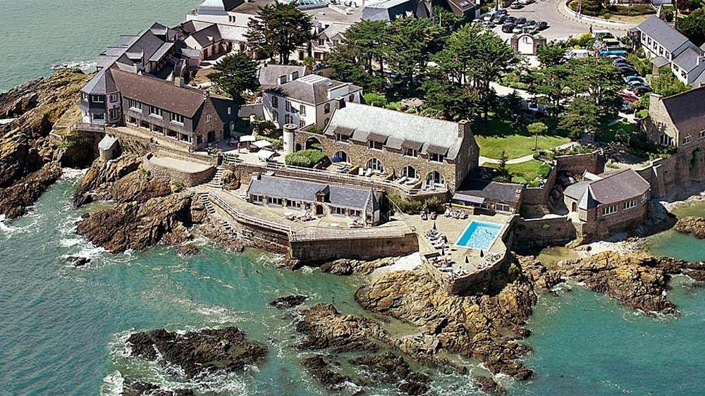 Vue aérienne du Domaine de Rochevilaine (Crédit photo Domaine de Rochevilaine ®)