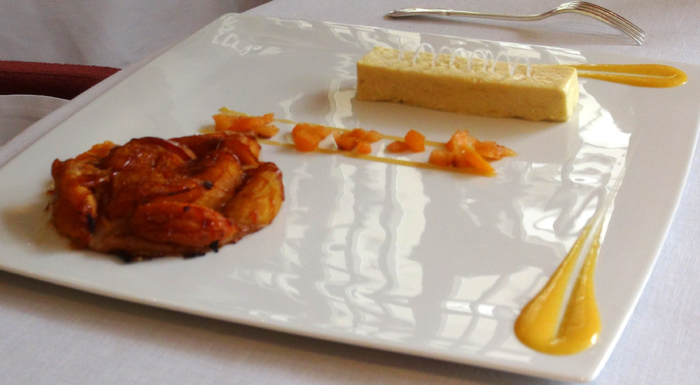 Tatin d'abricots