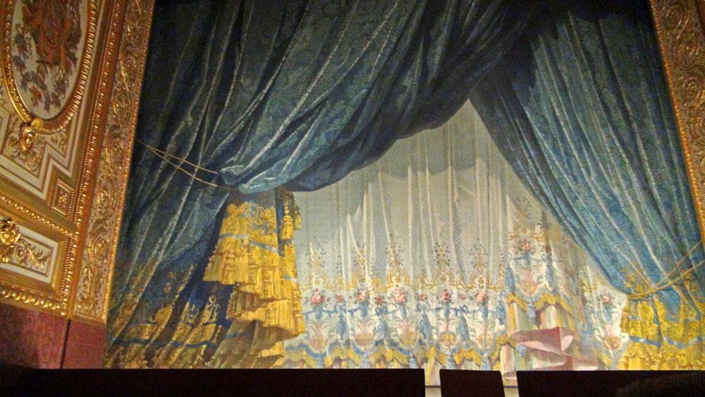 Scène du Théâtre Impérial