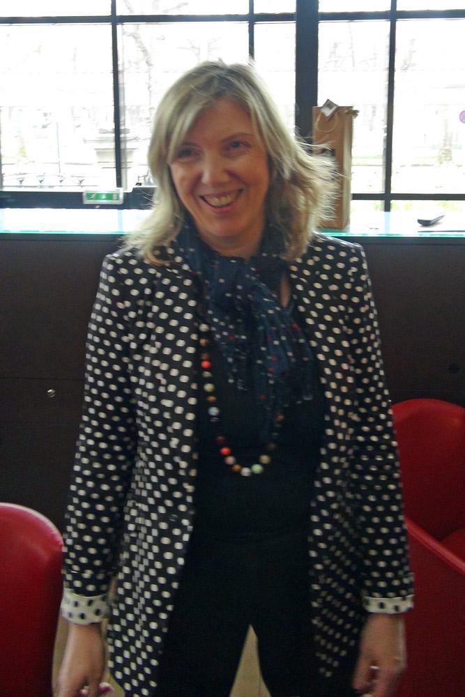 Martine Décoret, toujours souriante et aux petits soins ...