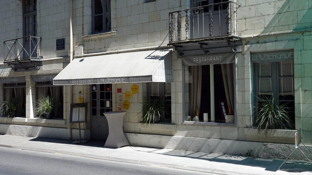 La façade de l'Aubergade