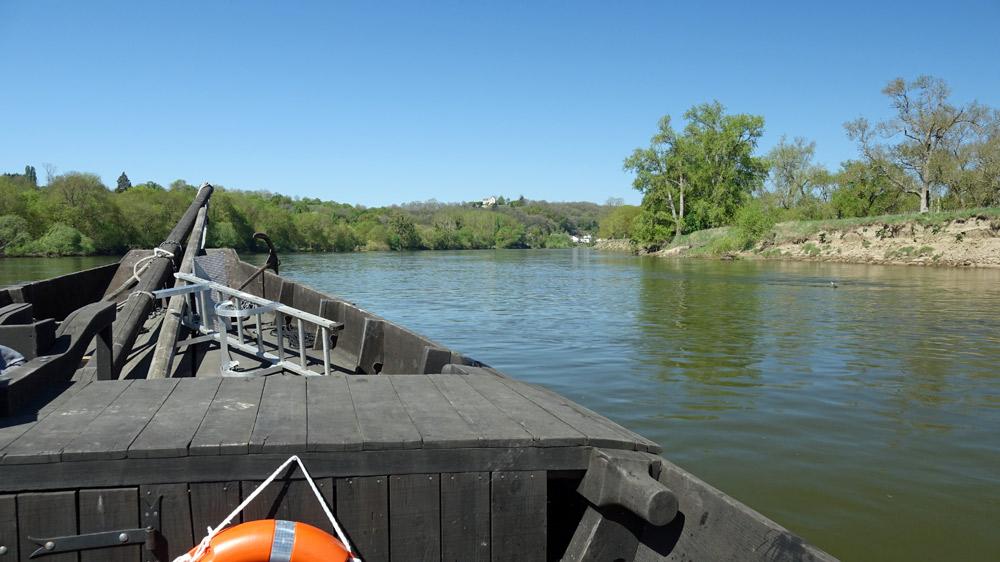 Au fil de la Loire, entre Saumur et Gennes