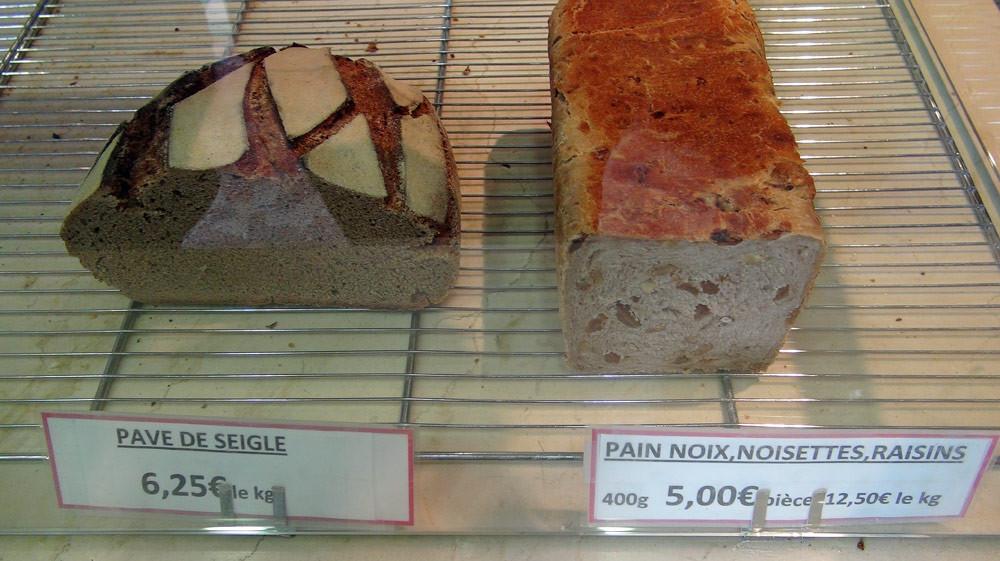 Deux pains spéciaux