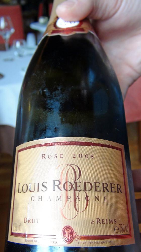 Champagne Roederer rosé 2008