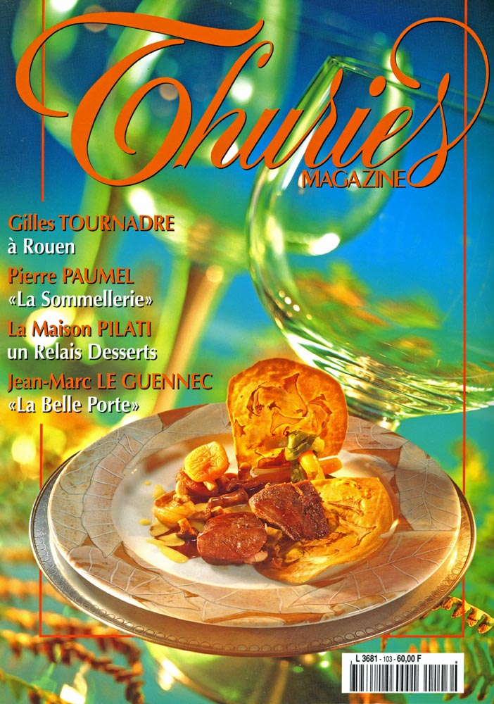 Le Thuriès magazine N°103 d'octobre 1998 consacré à Gilles Tournadre