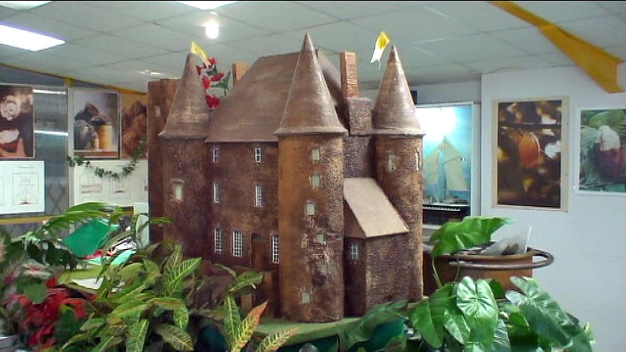 Château en chocolat (mars 2005)
