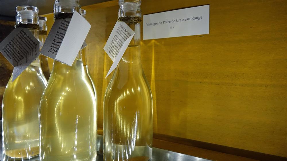 Vinaigre de Poire de Crasseau Rouge