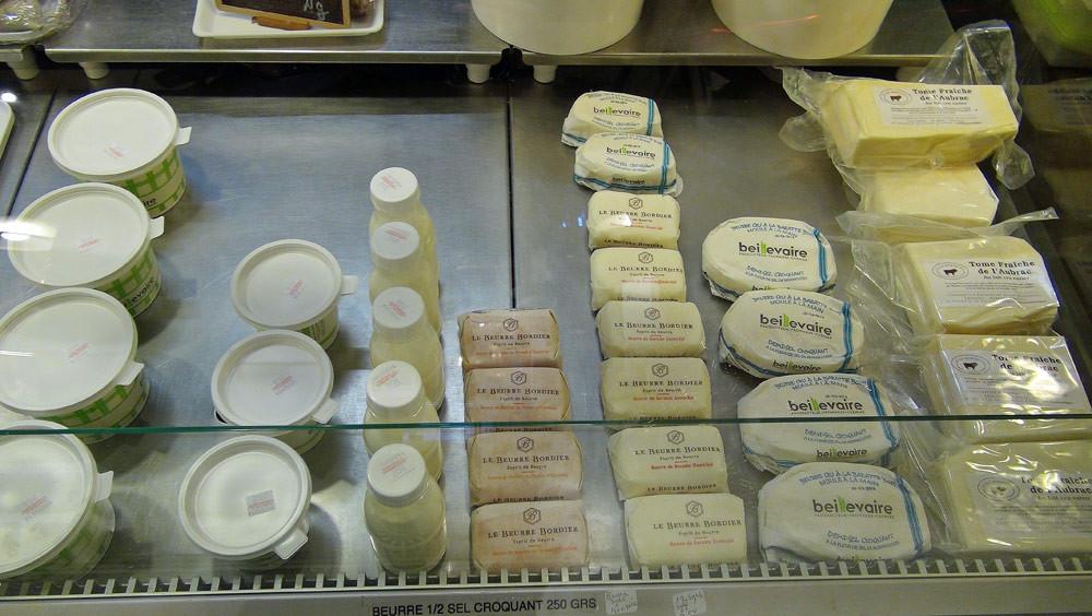 Beurre et crème de chez Bordier et Beillevaire