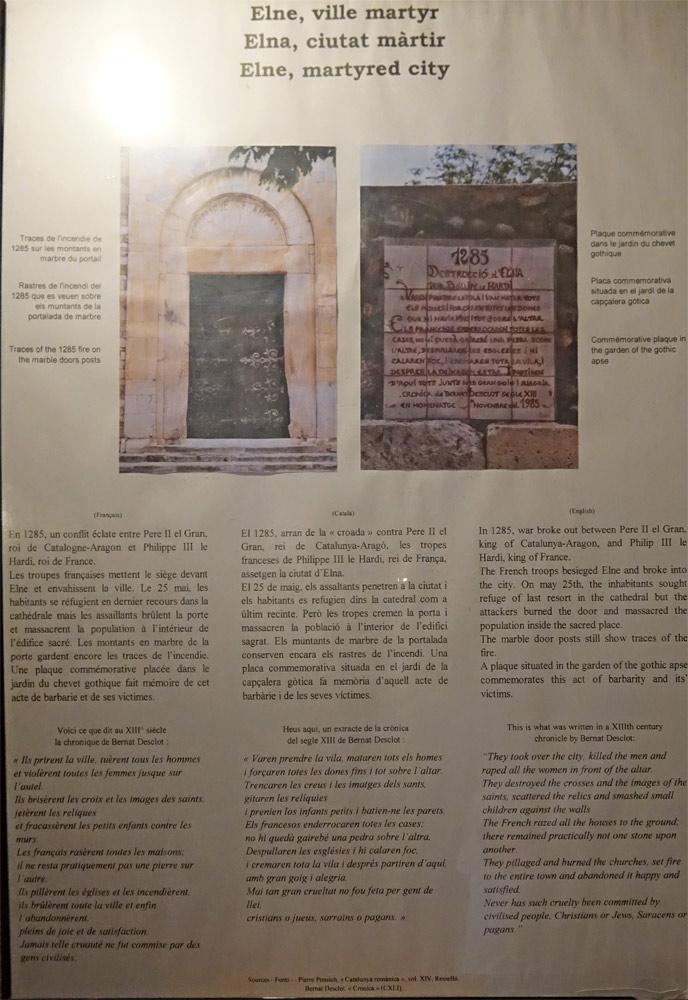 Quelques explications historiques sur Elne