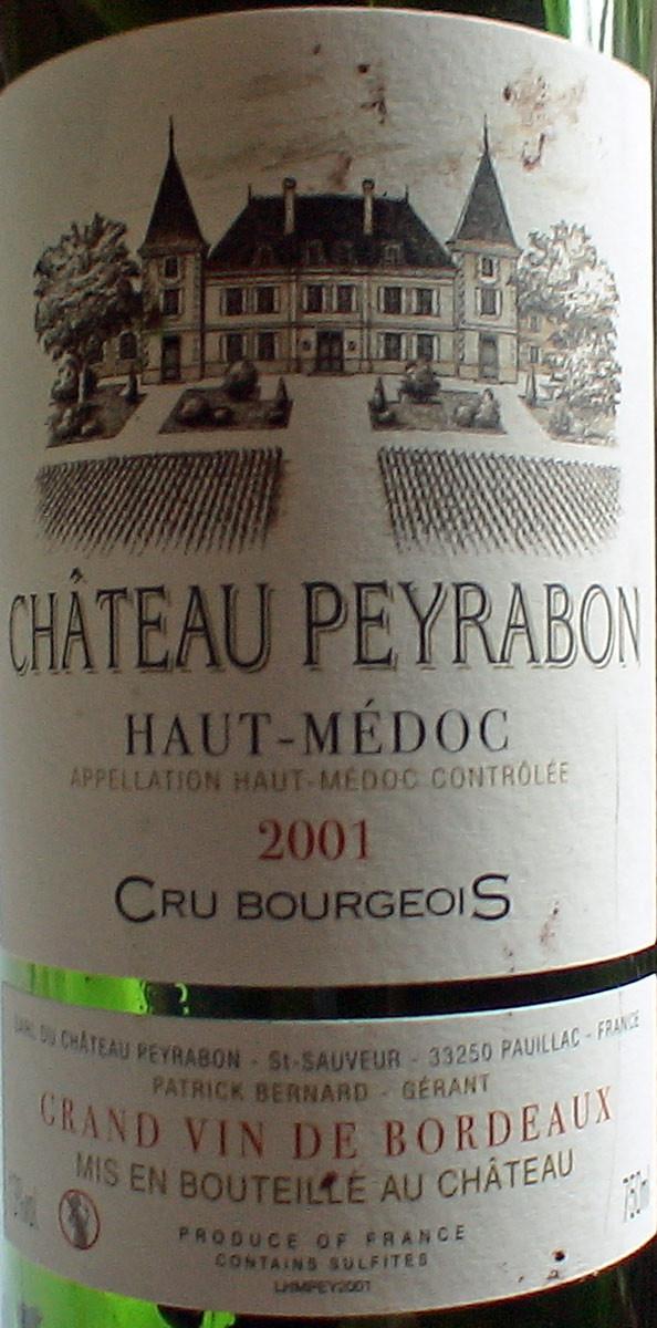 Haut-Médoc 2001