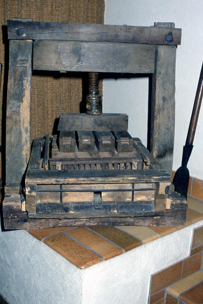 Riquewihr - Maison Hugel, le pressoir