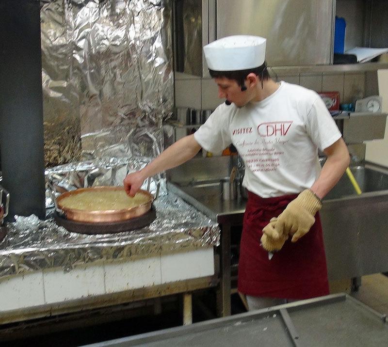 Test de cuisson du sucre à main nue, 145 ° !