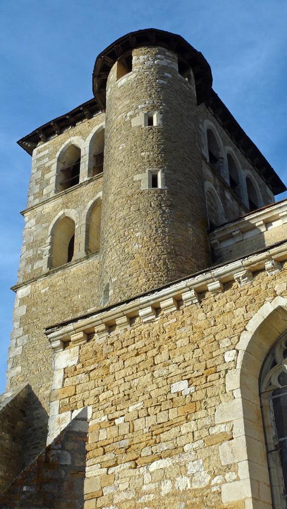 Puy l'Evêque : Eglise fortifiée Saint-Sauveur