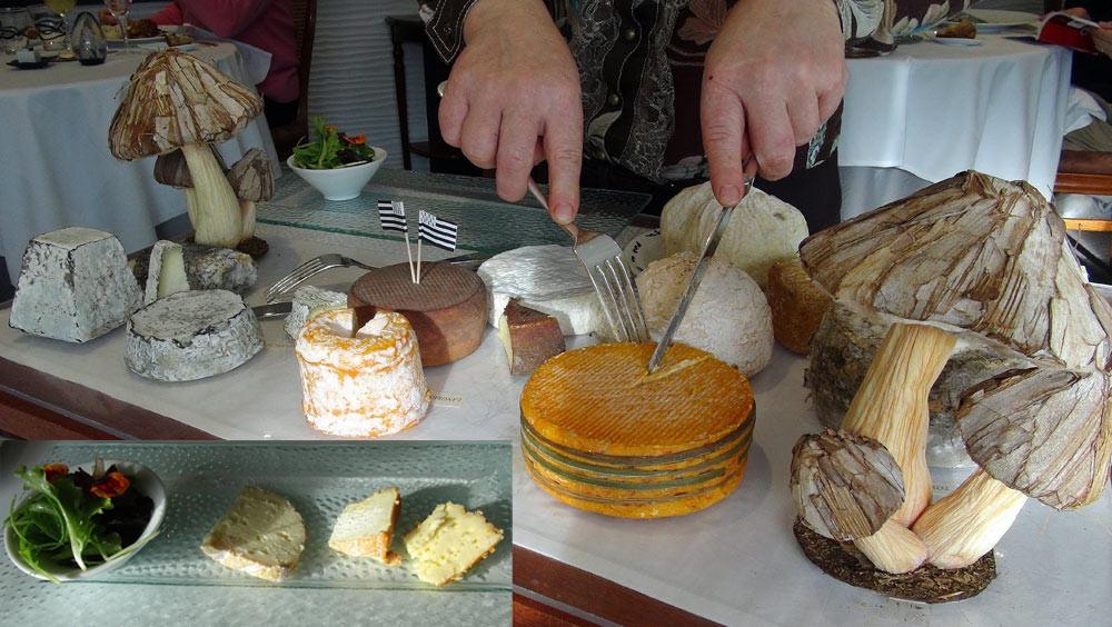 Le plateau de fromages et ma sélection