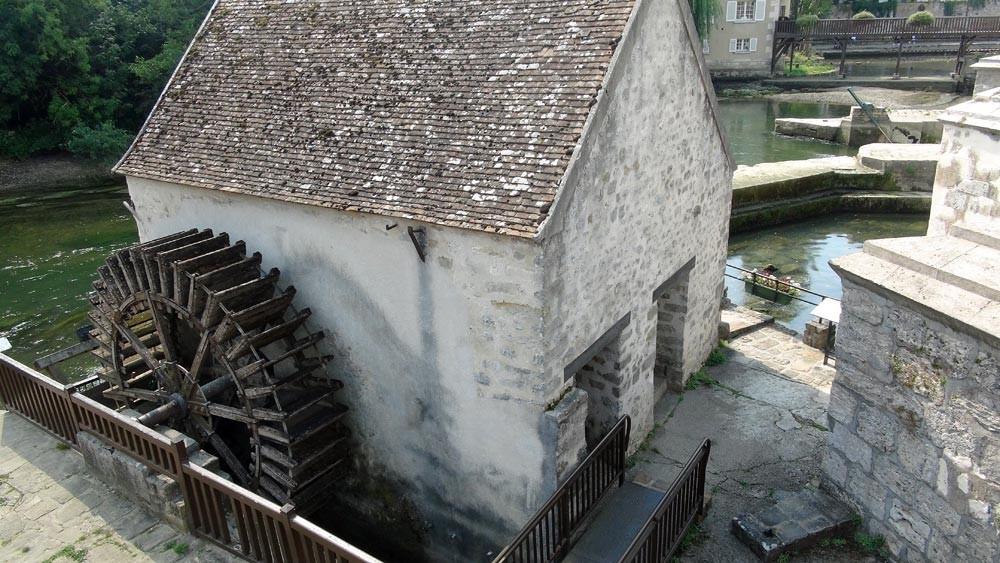 Moret-sur-Loing : le moulin, vu de plus près