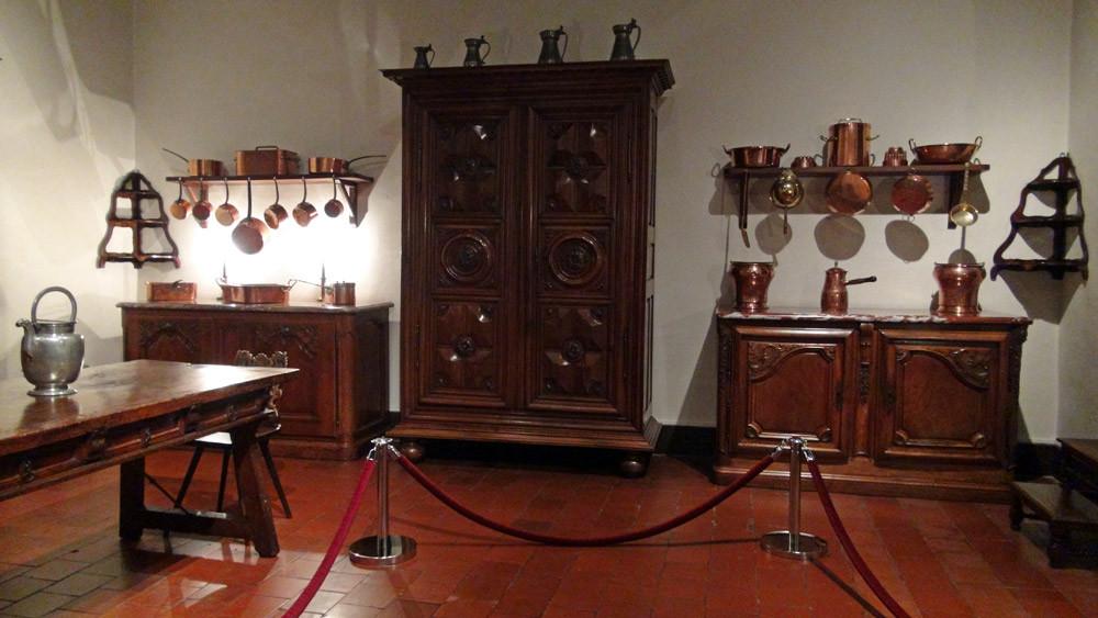 Musée des Arts décoratifs : la cuisine (2ème étage)