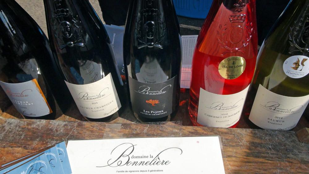 """Les vins du domaine """"La Bonnelière"""" de Cédric Bonneau"""
