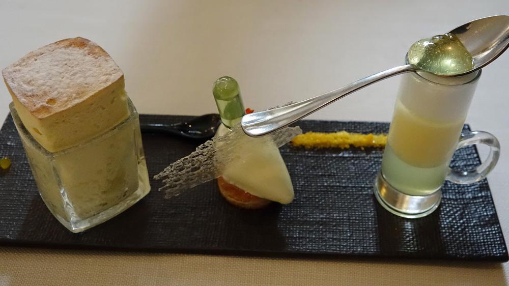 Variation autour du Citron : Jaune, lime, combava