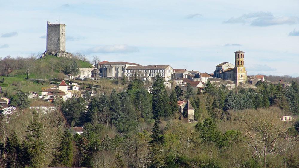 Vue sur Montcuq