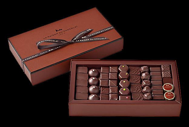 Boîte de chocolat assortis (Photo issue du site de LMDC)