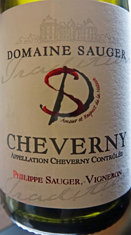 Cheverny blanc AOC de Philippe Sauger