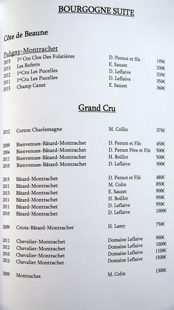 Bourgogne suite (22 références)