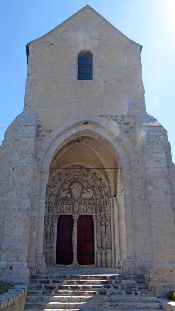 L'église restaurée