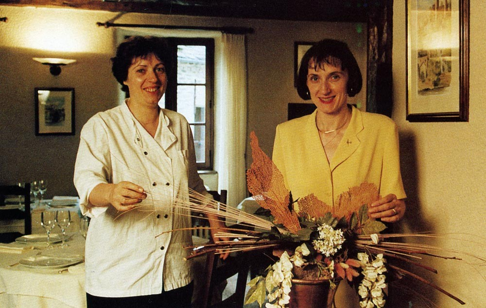 Nicole & Michèle Fagegaltier - Thuriès magazine N° 63 octobre 1994
