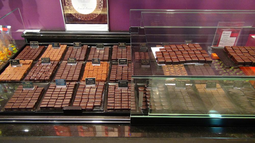 Chocolats divers