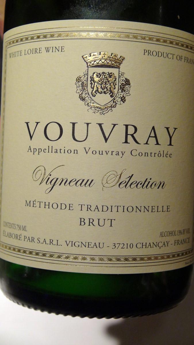 Le Vouvray MT de Vigneau-Chevreau