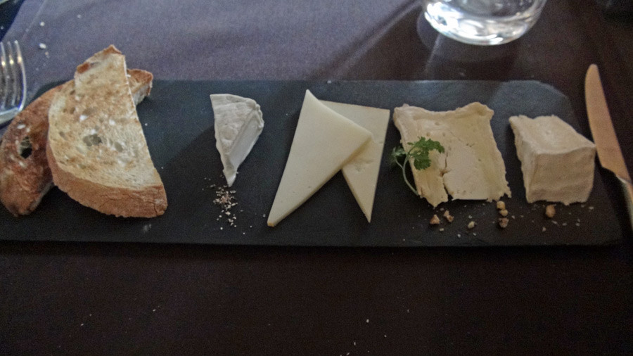 Assiete de fromages