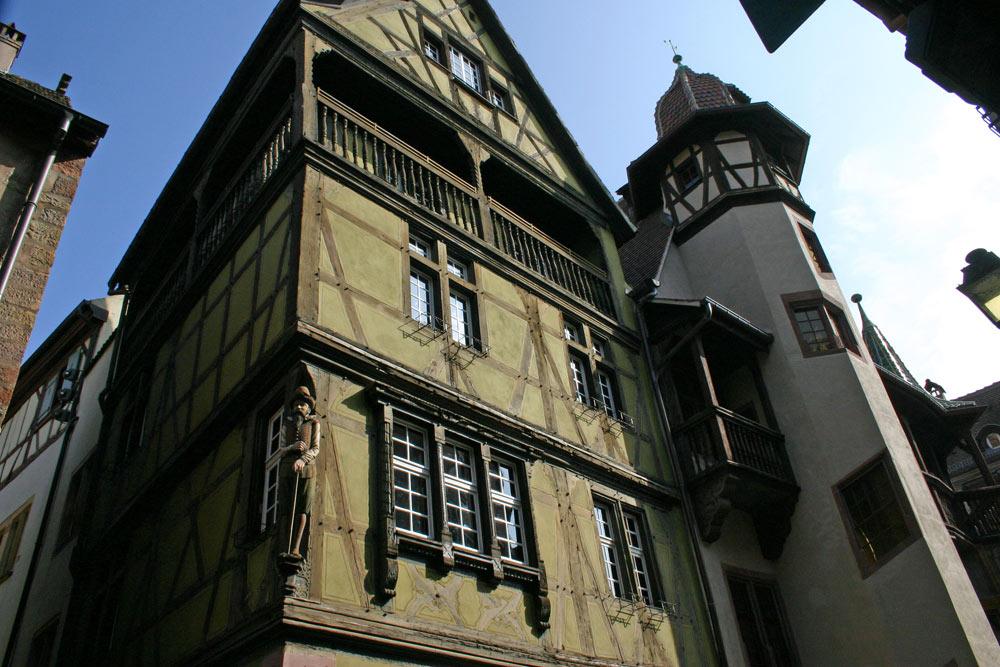 Maison voisine de la maison Pfister