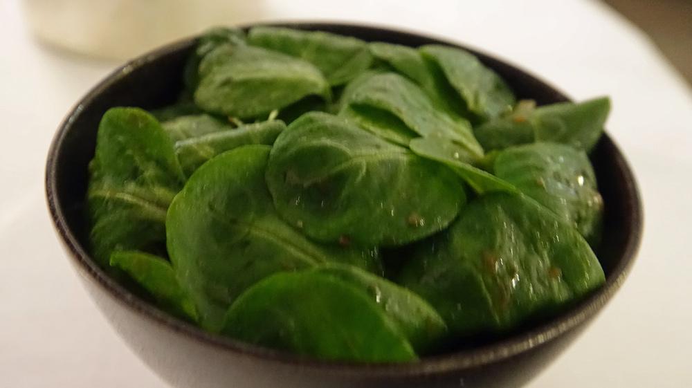 Petite salade mache
