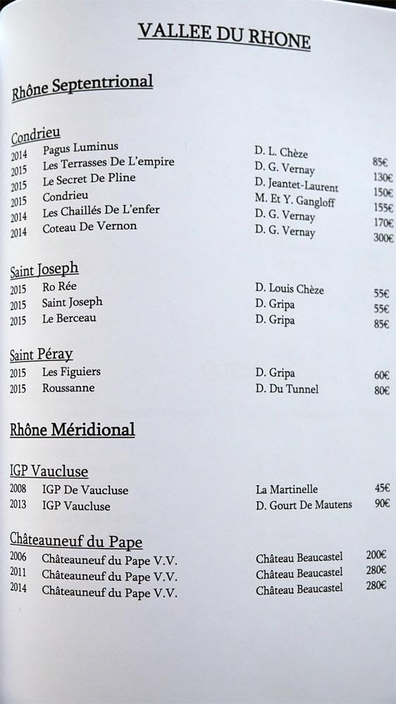 Vallée du Rhône (16 références)