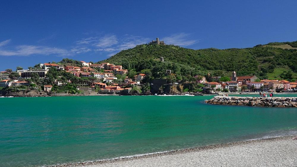 La plage et le Fort Saint-Elme