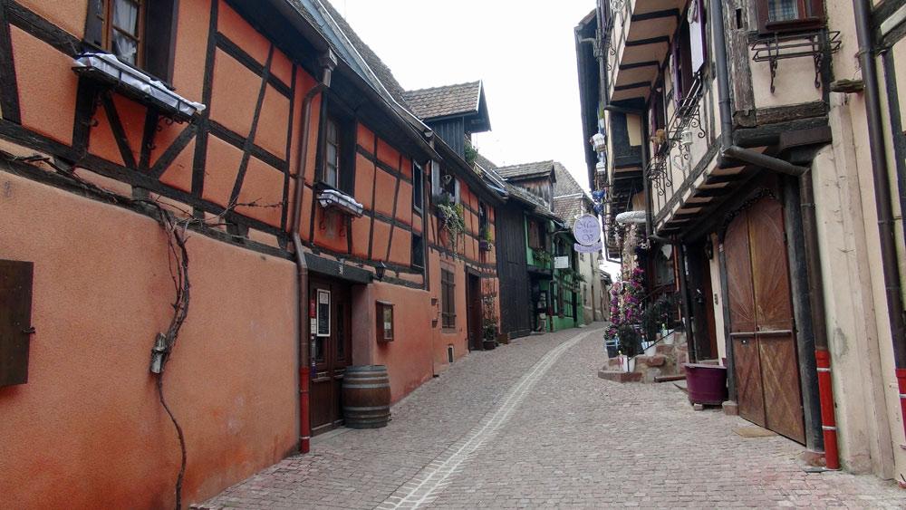 Riquewihr - Maisons du centre ville