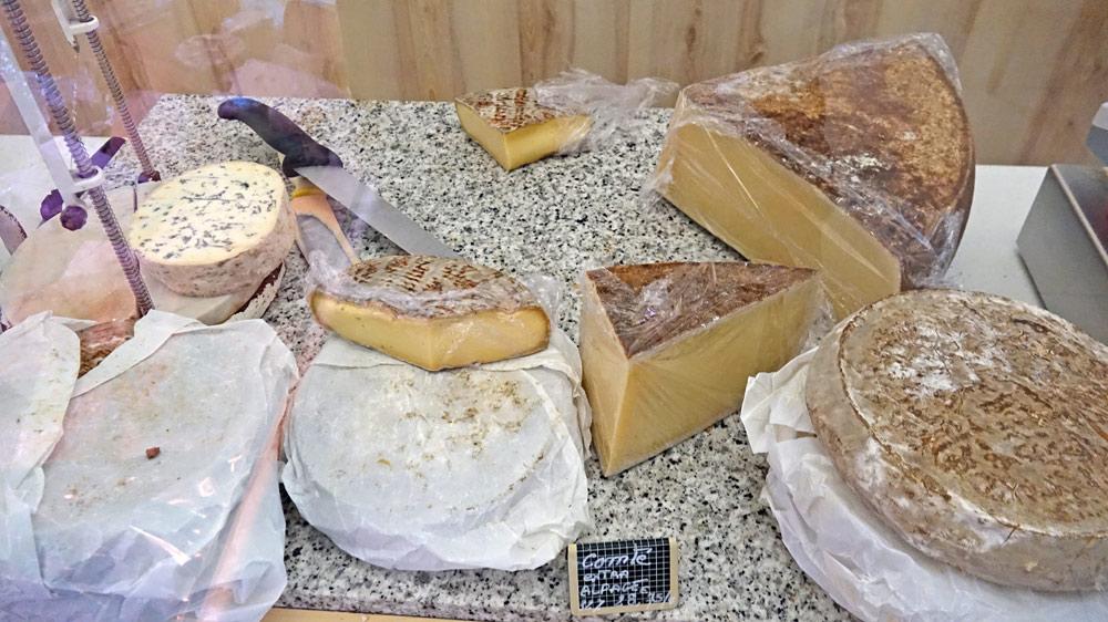Quelques fromages, dont le Chambérat