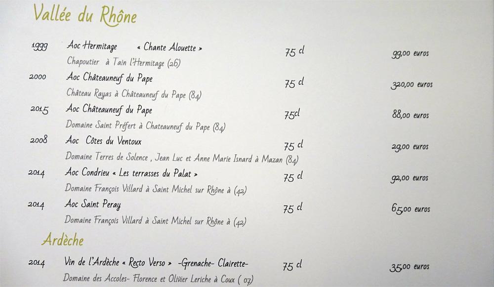 Vins blancs du Rhône