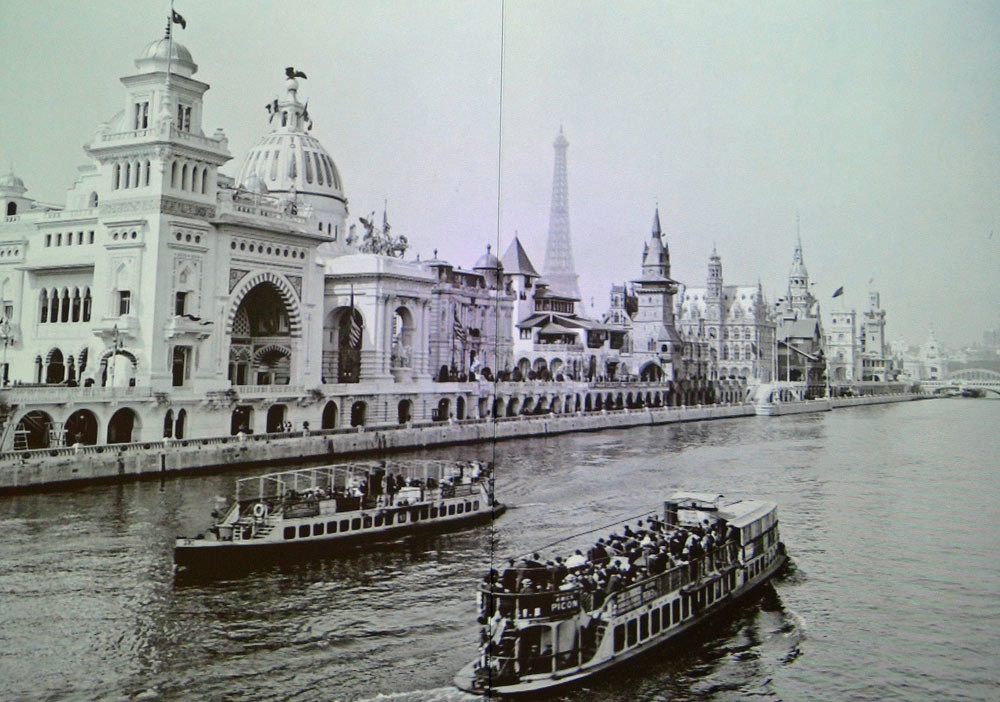 Photo issue du film retraçant l'Exposition universelle de 1900 à Paris