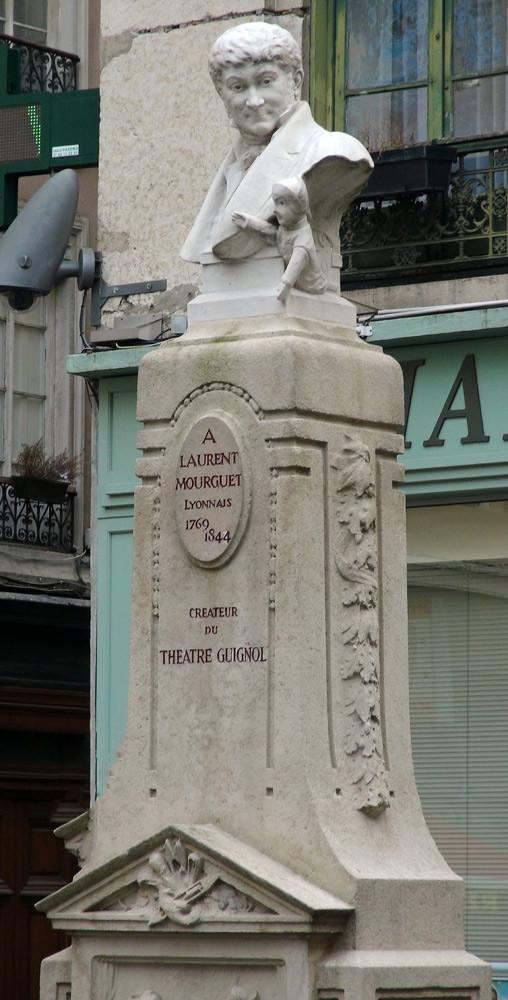 """Visite des Traboules : Laurent Mourguet et son """"Guignol"""""""