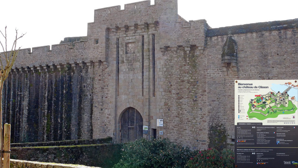 Accès au Château