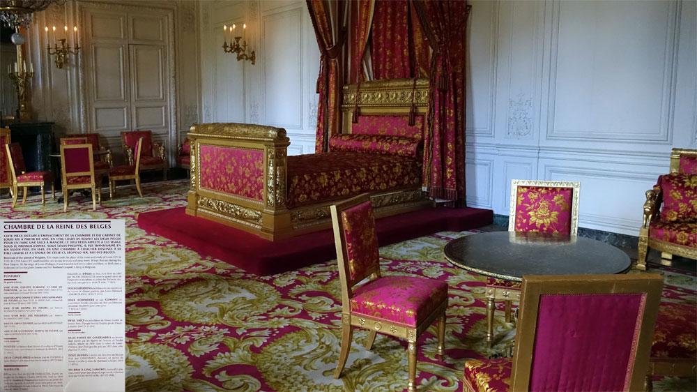 Le Grand Trianon : Chambre de la Reine des Belges