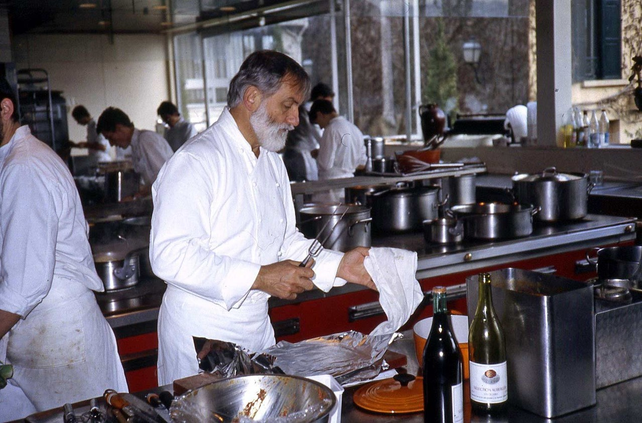 Jean Troisgros  - 8 avril 1983