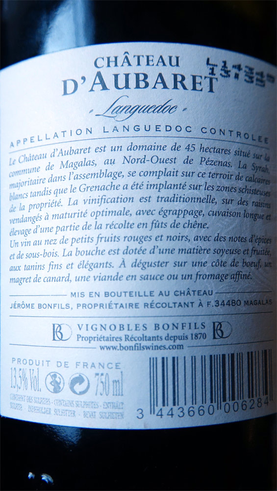 Languedoc rouge 2012