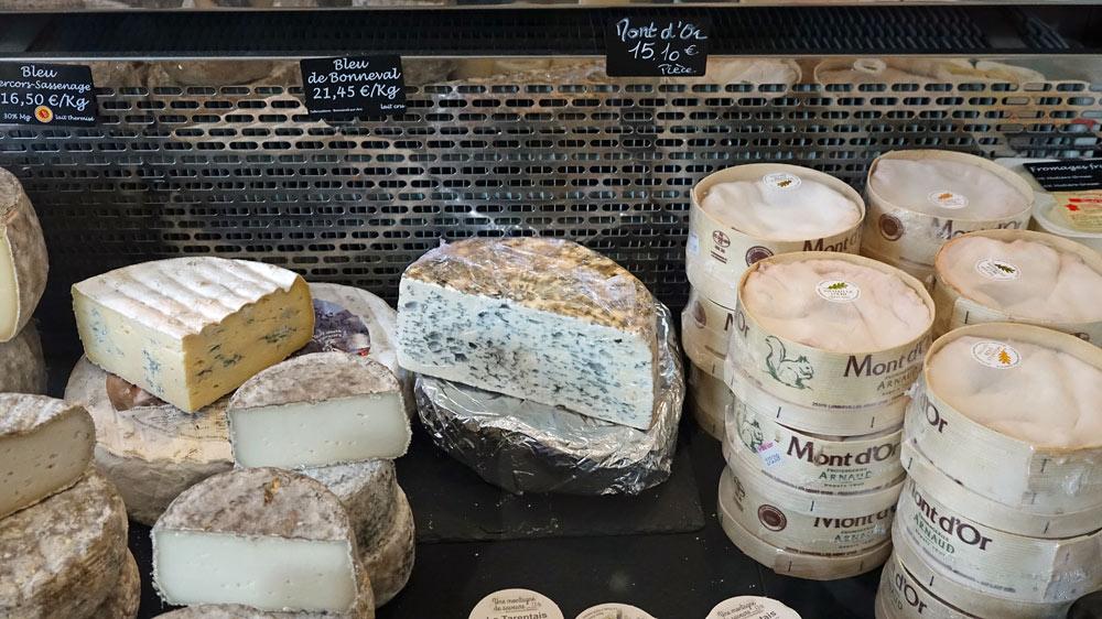 Bleu Vercors-Sassenage, Bleu de Bonneval, Mont d'Or