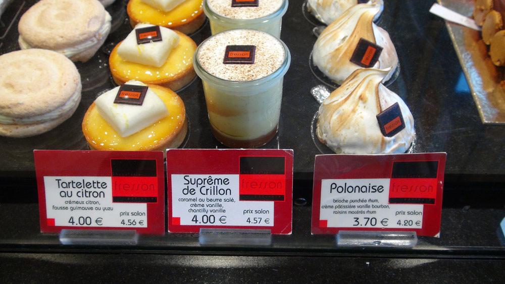 Gâteaux individuels