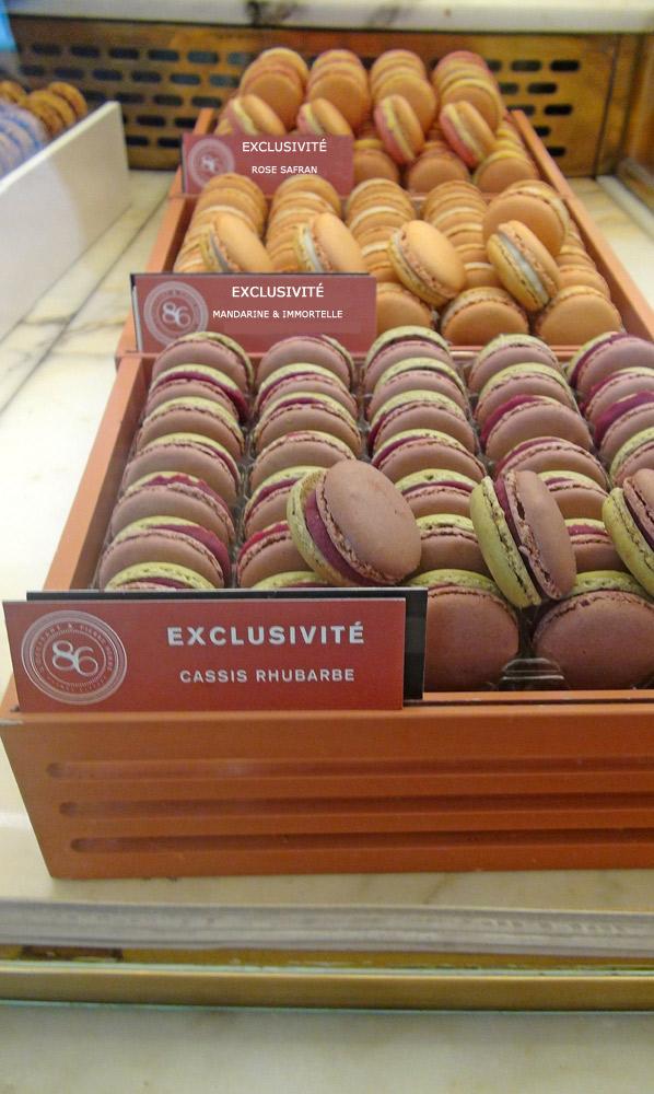 """Macarons exclusifs du """"86 Champs-Elysées"""""""