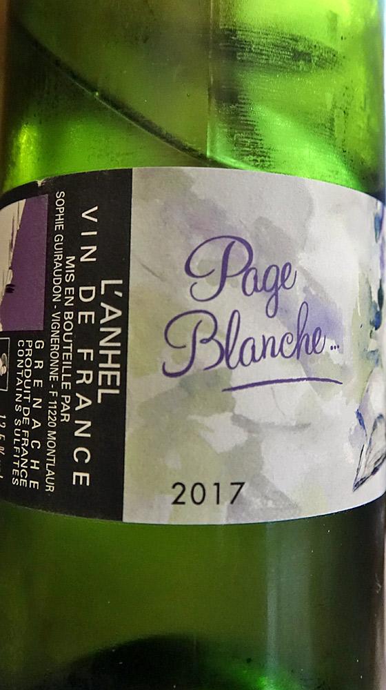 Vin blanc sur les 2 premiers services