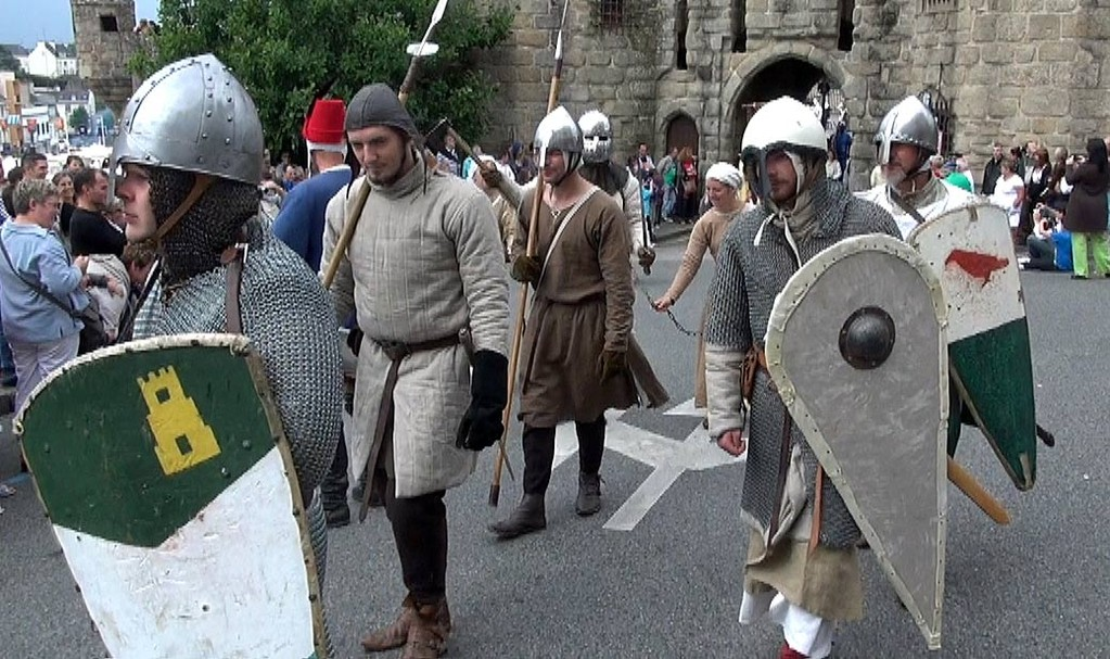 Défilé depuis les tours Broërec'h - 29/07/12